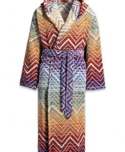 Missoni Bathrobe Tolomeo toni caldi