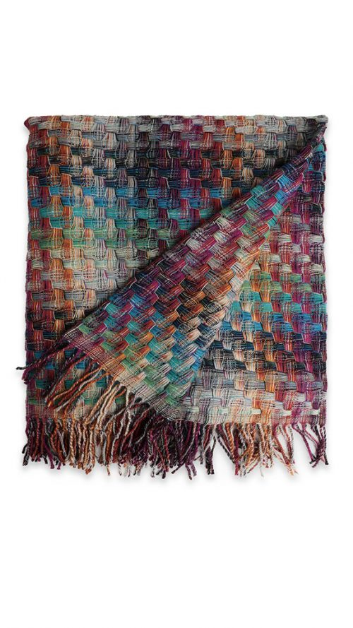 Missoni Home Throw Blanket Husky Color 100