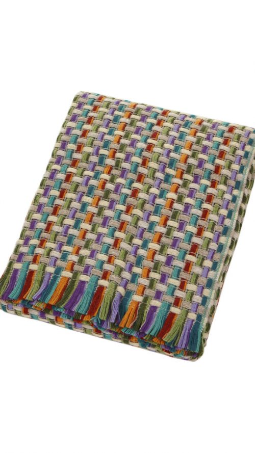 Missoni Home Throw Blanket Jocker Color 128