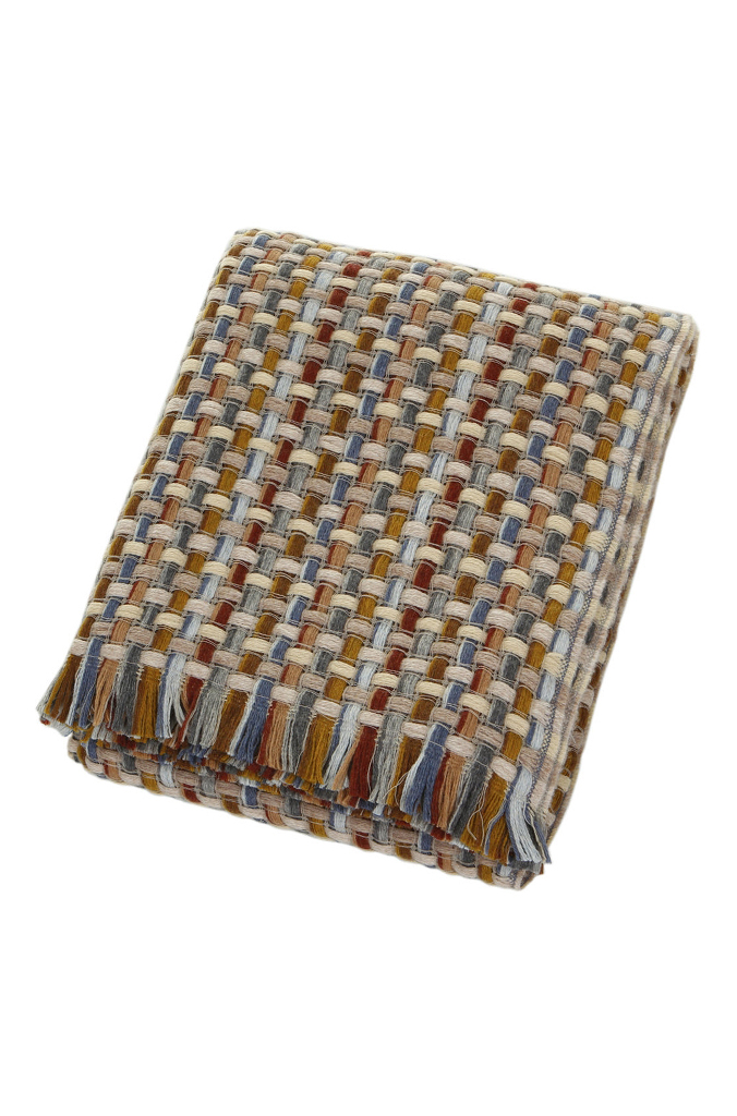 Missoni Home Throw Blanket Jocker Color 148