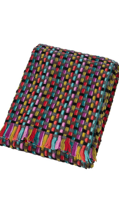 Missoni Home Throw Blanket Jocker Color 160